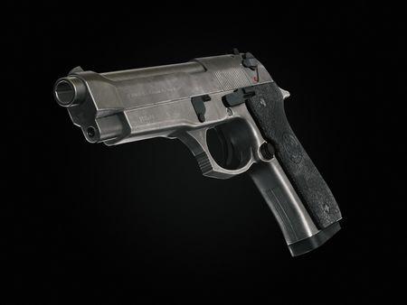 Beretta Game Asset