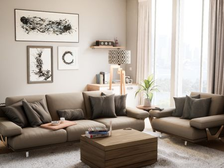 Architectural Visualisation: Living Room