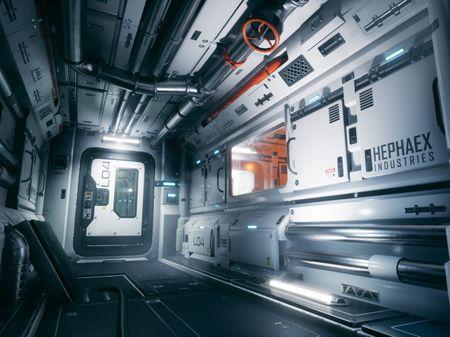 """Hephaex Level 4"" Modular Sci-Fi Environment"