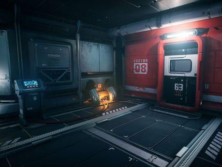 """Conios Sector 8 Hallway"""" Modular Sci-Fi Environment"""