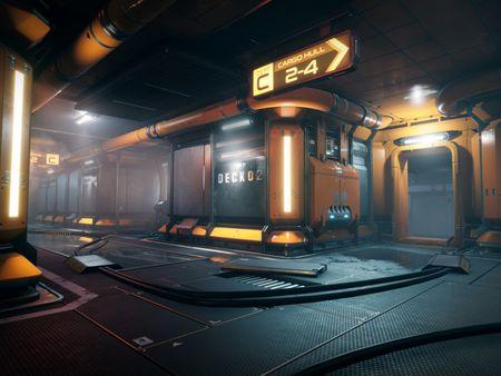 """""""Conios Sector 8 Main Floor"""" Modular Sci-Fi Environment"""