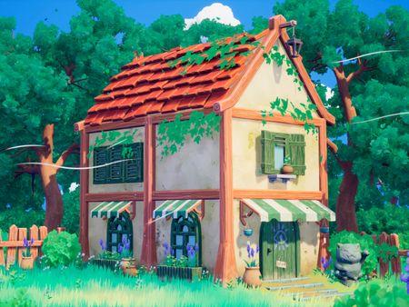 Stylized Witch House
