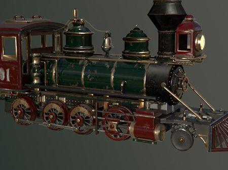 Durango Silverton Locomotive