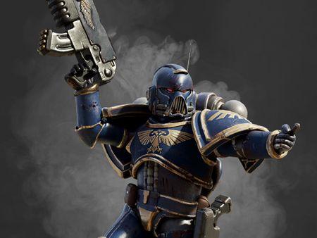 Warhammer 40000 Space Marine fanart