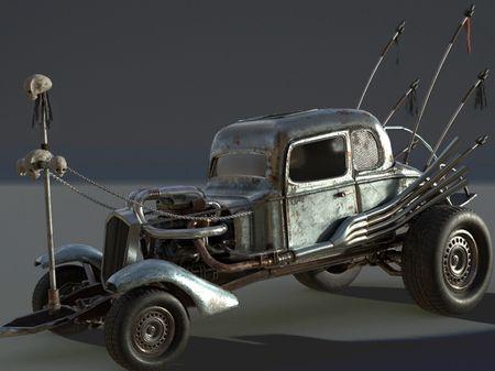 Madmax Nux's car Fan Art