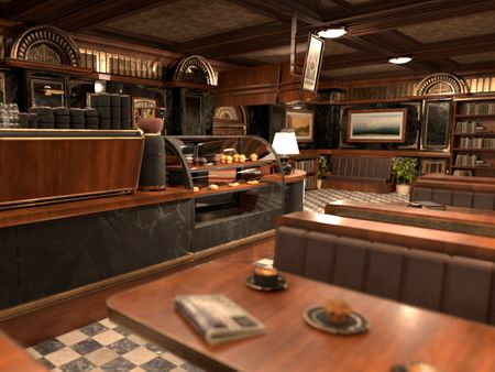 Henry's Coffee - 1950 Diner Style/Victorian Coffee Bar