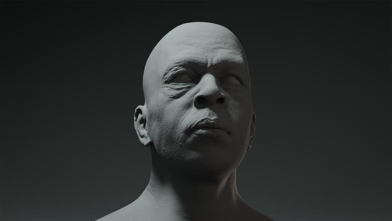 Afroamerican Male Portrait