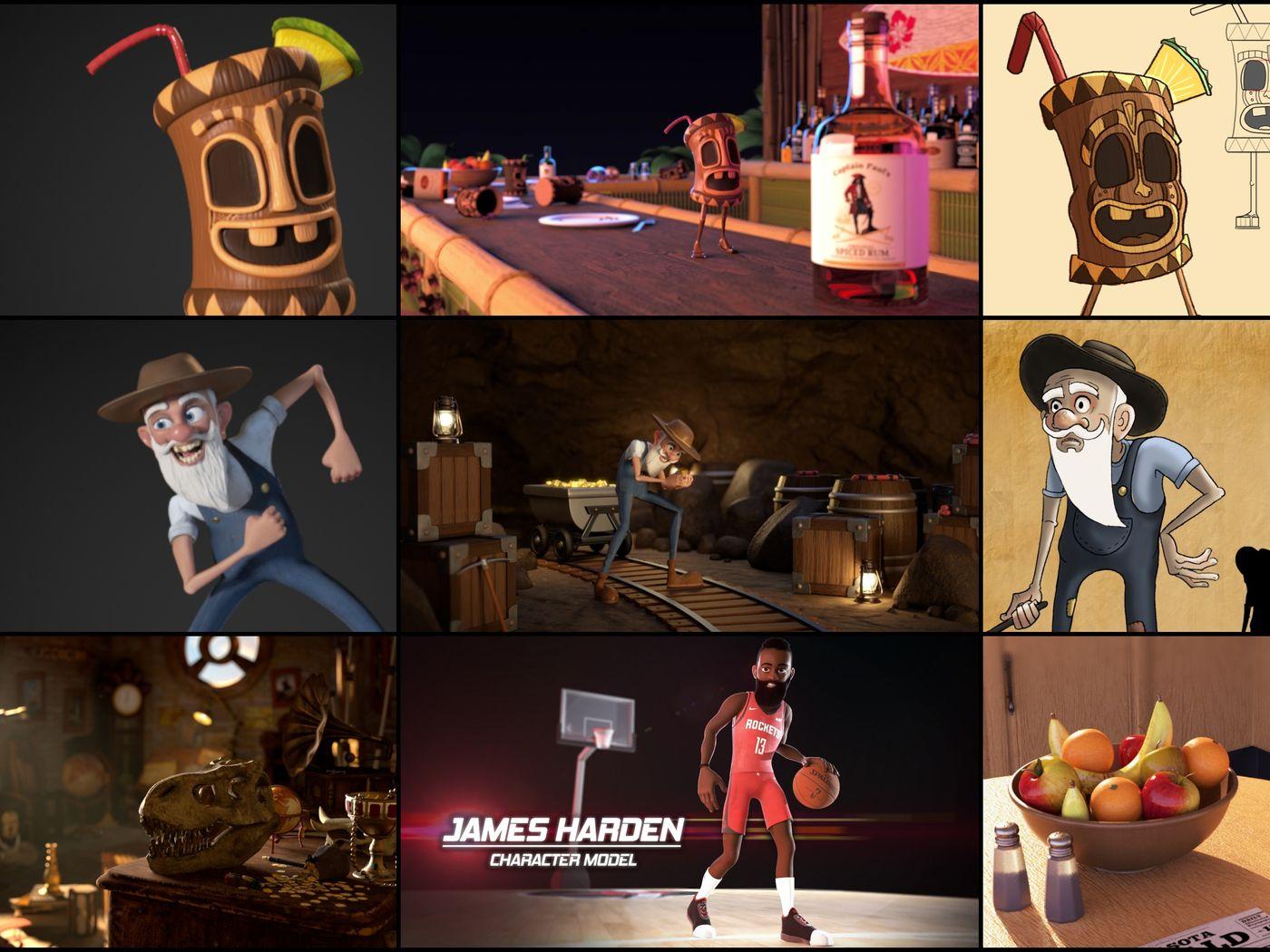 3D Animation / 3D Generalist Portfolio