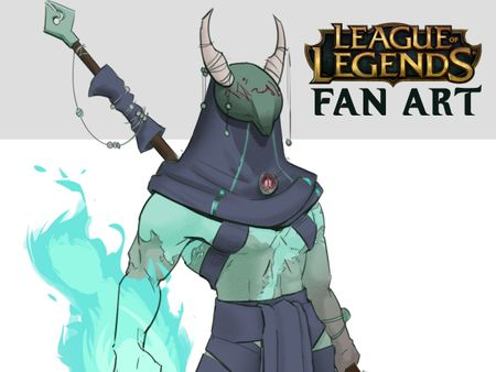 JACK'L - League of Legends Champion Concept (FANART)