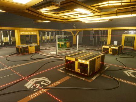 Deus Ex inspired Environment (UE4)