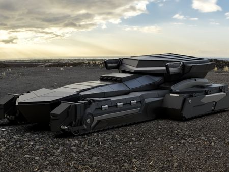 Zephyrus Stealth Tank(High Poly Concept)
