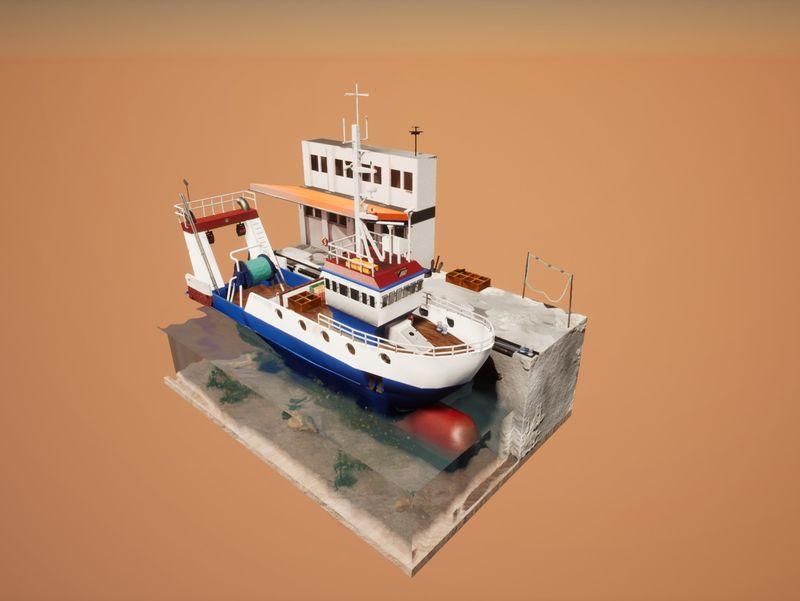 Trawler Diorama