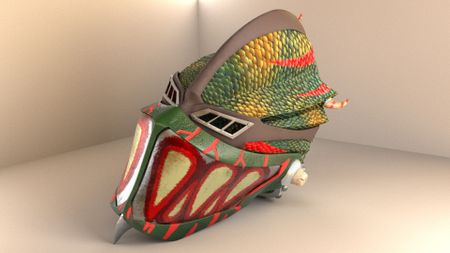 Dragon Scale Helmet