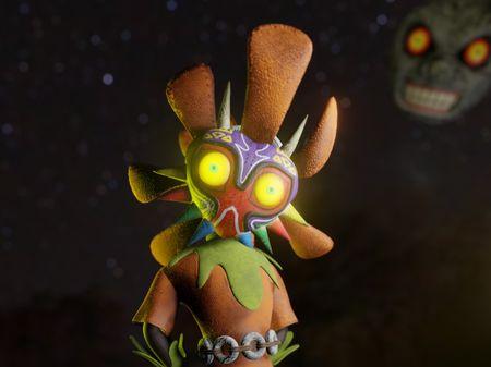 Skull Kid 3D Model