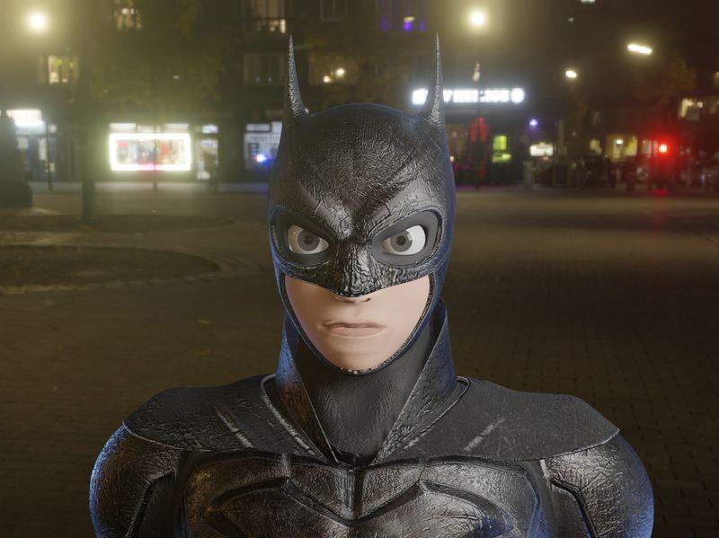Batman 3D Model