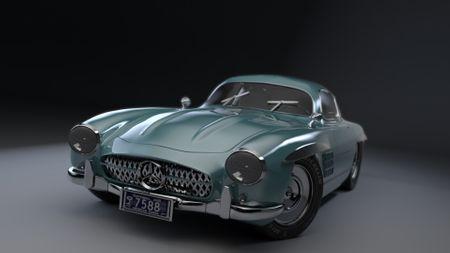 Mercedes SL Gulwing