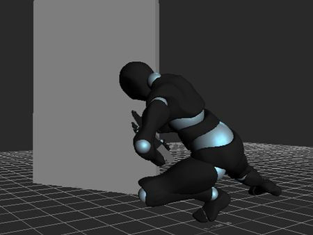 Mocap action sequence