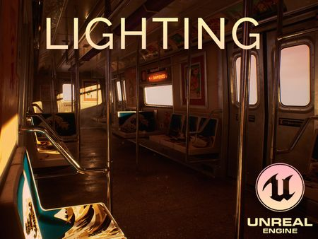 Re-Lighting : Subway Train - Japanese Mood