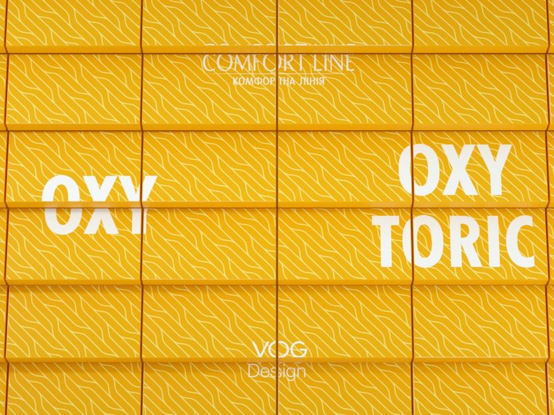 Promo video for Oxy and Oxy Toric contact lenses