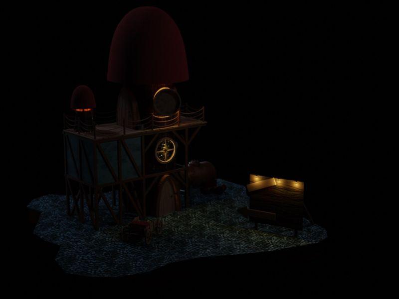 CG Boost Mushroom House Challenge