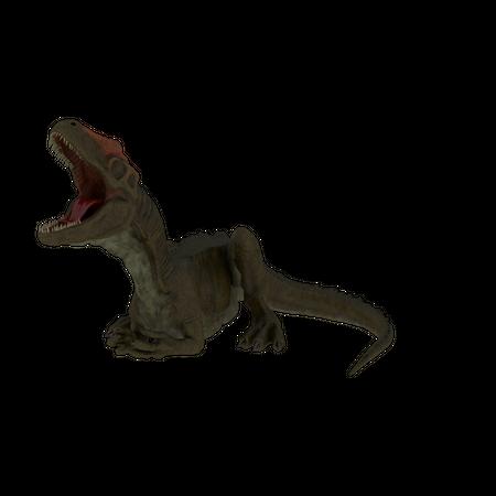 Allosaurus Animation Cycle