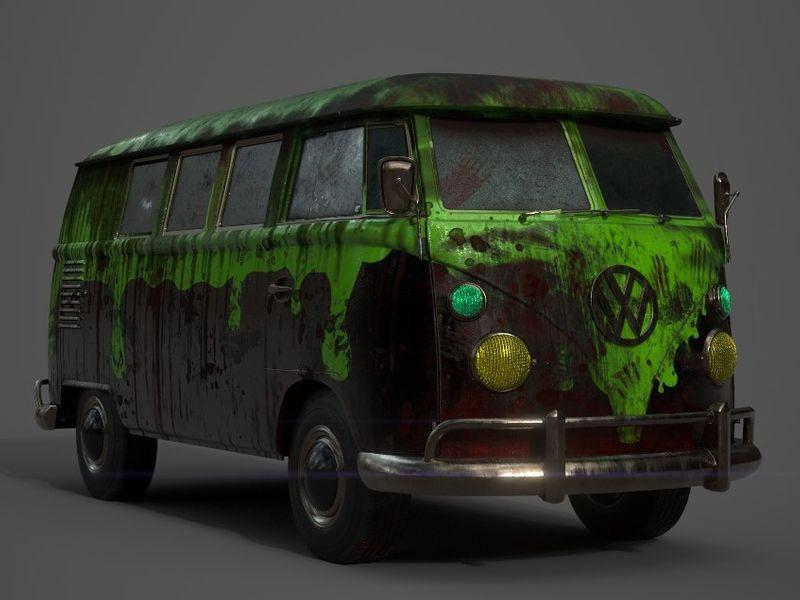 Zombie Kombi Van