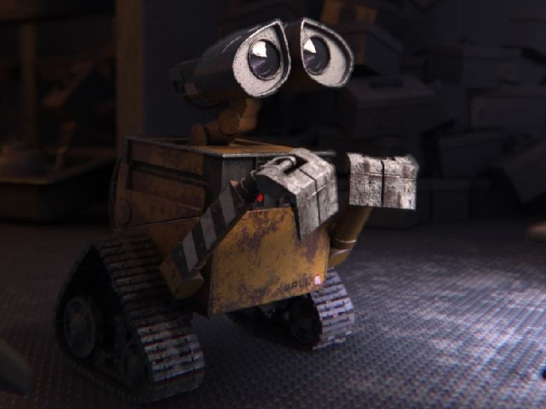 Wall-E Shot Recreation