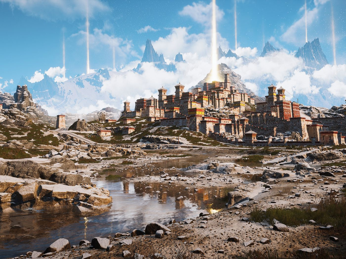 Tibet: The Trip of Holy Light Environment Art with UE4