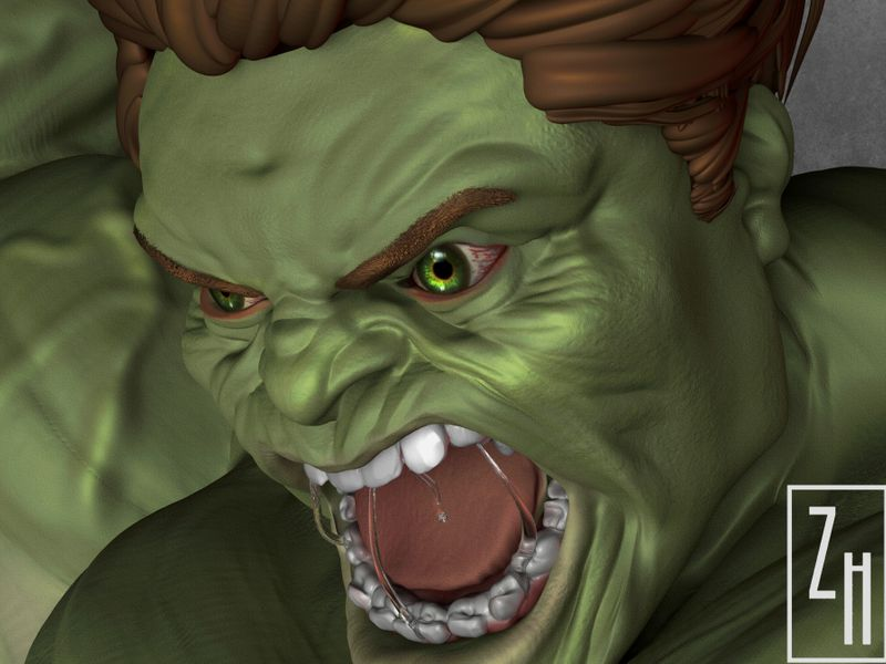 THE INCREDIBLE HULK -FAN ART