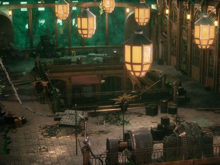 Covent Garden Culture Chambers - A Bioshock London Project