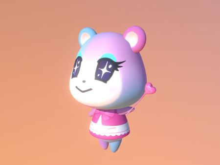 Judy Animal Crossing Model