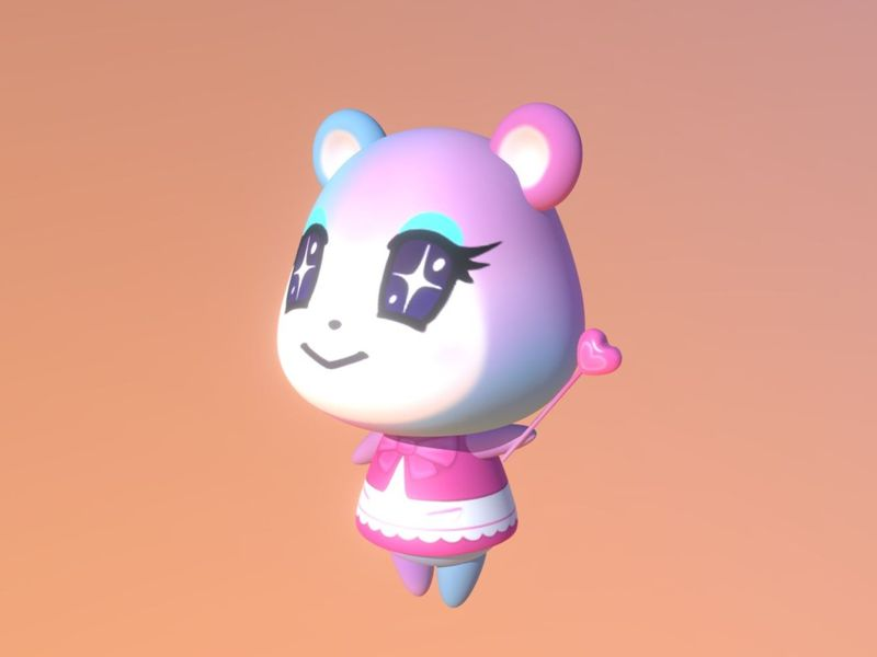 Judy Animal Crossing Model