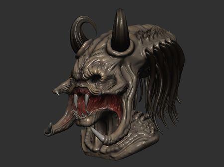 Alien Predator 3D Model