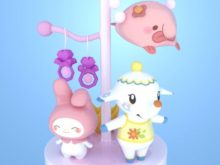 Jewels - 3D Cute Animals Model