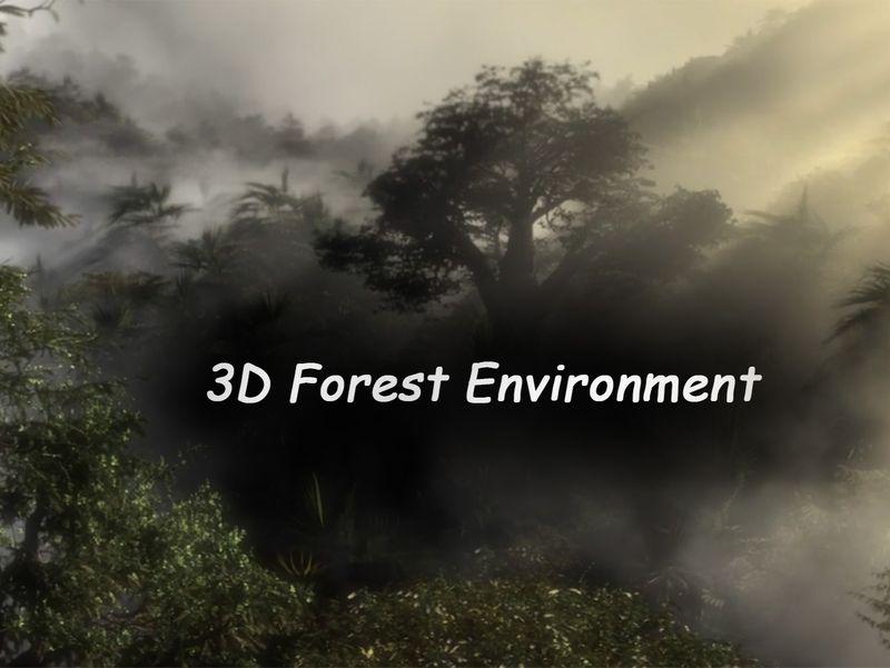 3D Junior Environment Forest