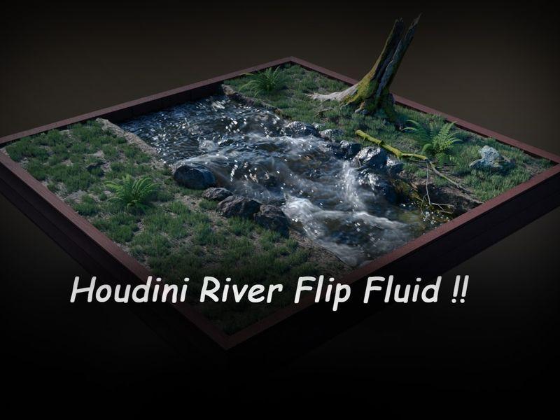 Junior Houdini flip fluid river